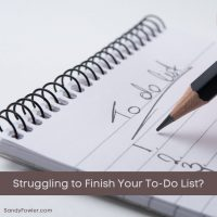 Struggling to Finish Your To-Do List?